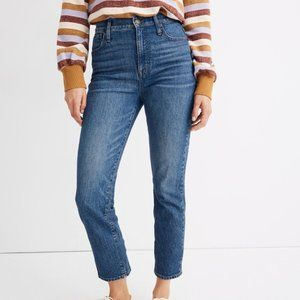 """NWT Madewell """"Classic Straight Jean"""" Size 29"""